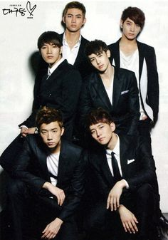 2PM- I love them all! A.D.T.O.Y is my new favorite song!