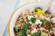 Recipe:+Skinny+Broccoli+Salad