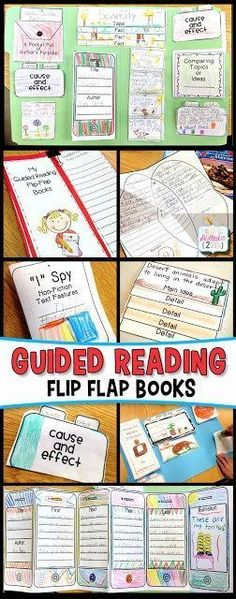 Guided Reading L.O.V.E. - Flip Flap Books Simply Skilled in Second