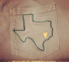 Baylor colored Comfort colors frocket with texas outline by TexasLadyMonograms, $19.00