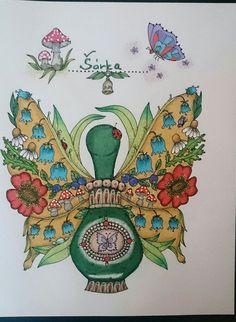 Čarovné lahodnosti Magical delights by Klára Marková  Coloring by Šárka Stryalová