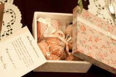 Caixa de Doces de Casamento - Diana + Tiago