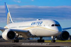 Boeing 787-8 Dreamliner - United Airlines | Aviation Photo #4053825 | Airliners.net