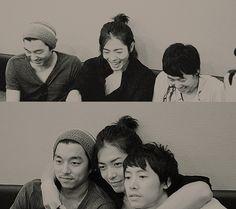 Gong Yoo ,Kim Jae Wook, and Kim Dong Wook?