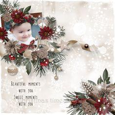 """Christmas pleasures"" by MoossScraps"