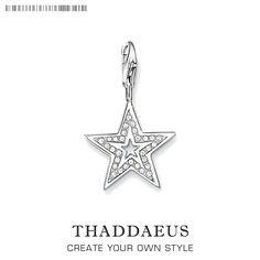 d371e862054a Thomas Sabo  ´Stern´ Charm aus Sterling Silber.