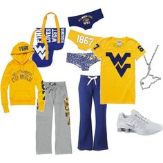 deffinatly a game day outfit for watching the game at home or goin to the stadium to see they 'eers(: