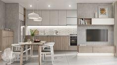 Krista District 2, Apartment on Behance