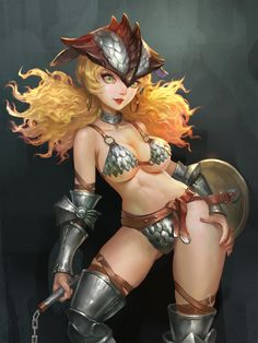 ArtStation - Breath Of Fire, shuai tong