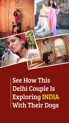 Divya Dugar and her husband is a couple exploring India with their dogs. Their experiences will inspire you to take a trip with your faithful companions too. Weather In India, Backpacking India, India Culture, Visit India, North India, India Food, Travel Couple, India Travel, Where To Go