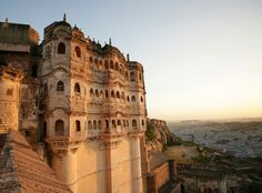 In the shadow of its legendary fort, the ancient desert city of Jodhpur intrigues with heritage hotels, garrulous merchants and cultural initiatives, says Maria Shollenbarger