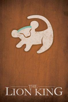The Lion King (1994) ~ Minimal Movie Poster by Jacquelyn Halpern #amusementphile