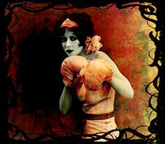 Hoi! Ik heb een geweldige listing gevonden op Etsy https://www.etsy.com/nl/listing/174863212/vintage-style-painting-flapper-girl