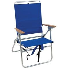 Beach Chair Backpack Rio Hi-Boy 7-Position Lightweight, Blue -- Check this awesome product by going to the link at the image.