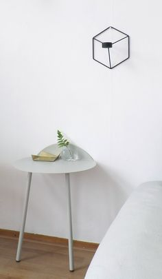 Via NordicDays.nl | White | Menu Yeh Table and POV Candleholder