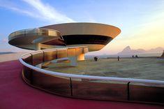 MAC - Museu de Arte Contemporânea de Niterói, Rio de Janeiro - Brazil. One of the greatest works of Oscar Niermeyer.