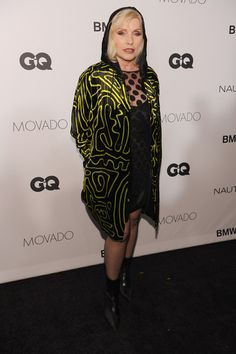 Singer Debbie Harry walks the red carpet at the 2013 GQ Gentlemen's Ball presented by BMW i, Movado, and Nautica at IAC Building on October 23, 2013 in New York City.