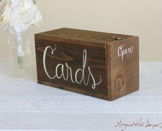 Wedding Cards Box Rustic Mailbox Shabby Chic by braggingbags