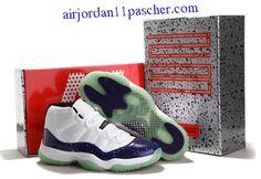 the latest 2e841 f2639 Air Jordan 11 Retro Nouveau Blanc Galaxy Chaussures Cheap Jordan 11, Cheap Jordan  Shoes,