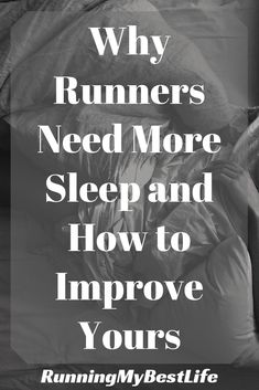As runners, we can't afford to be sleep deprived. The physical stress of running requires more rest. Use these 9 tips to improve sleep quality for runners. Running Workouts, Running Training, Running Tips, Road Running, Trail Running, Running Quotes, Running Motivation, Track Quotes, Workout Quotes