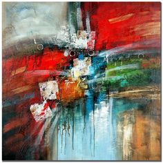 #art #abstractart #painting #contemporaryart #awesome #acrylicart This ready to hang, gallery-wrapped art piece features an abstract composition of colors and shapes. Masters Fine Art is a company that travels around the world to bring the best in fine art from outs BTW, Also, if you like abstract art, check out: http://www.universalthroughput.com