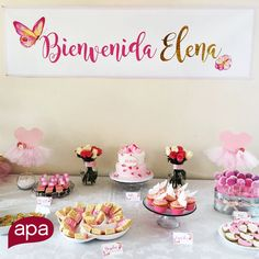 We love to celebrate life! We welcome Elena with delicate and sweet graphics to compliment her baby shower. www.apacreative.com #APACreative #BabyShower #Creativity #Design #SmART #Communications #Elena #Pink #Baby #ItsAGirl #AdvertisingAgency #Art #Creative #Branding #Shower #Sweet #SocialMedia #Marketing