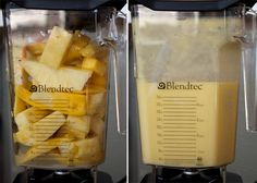 Pineapple and Mango Granita + Blendtec Giveaway Healthy Blender Recipes, Vitamix Recipes, Mexican Food Recipes, Gourmet Recipes, Bueno Recipes, Lemon Sauce, Mussels, Fish And Seafood, Easy Cooking