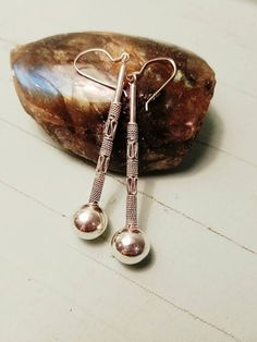 Check out this item in my Etsy shop https://www.etsy.com/listing/492787512/sterling-silver-drop-earrings-bohemian