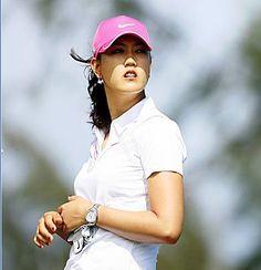 Michelle Wei wearing #omega