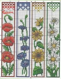 Resultado de imagen para free cross stitch bookmark patterns