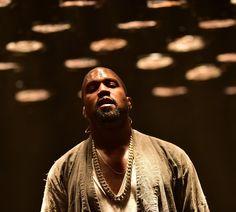 Kanye West num show em Atalanta, nos EUA. Ele pediu ajuda pública para pagar US$ 53 milhões. (Foto: Prince Williams/WireImage)