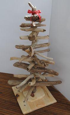 Driftwood Xmas Tree.