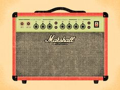 Marshall Amps are designed to work hard - which they do!