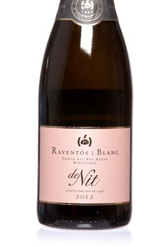 Raventos i Blanc Conca del Riu Anoia de Nit 2012 | Toasty, yeasty aromas, with a lacy texture, delicate bubbles and light, tangy flavor of red berries. (Photo: Tony Cenicola/The New York Times)
