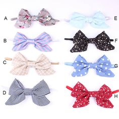 >> Click to Buy << 15 Inch Cute Kids Headbands Lovely Bowknot Headband Flower Print Bow Hair Band Fashion Accessories Gift 7AA678 #Affiliate