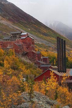 Mill building, Kennicott, Wrangell - St. Elias National Park, Alaska