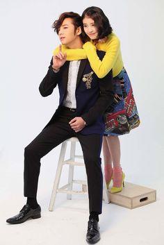 "Jang Geun Suk and IU Shoot Poster For ""Pretty Boy"" | Couch Kimchi"