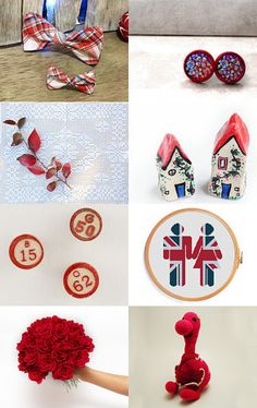 English red by Gioconda Pieracci on Etsy--Pinned with TreasuryPin.com