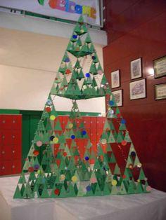 Arbre de nadal. Triangles de Sierpinsky