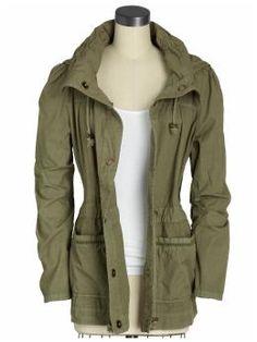 i want a military jacket.