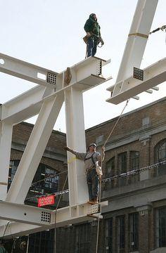 In Progress: Milstein Hall Steel / OMA