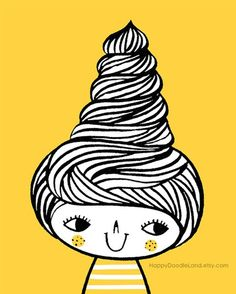 17 Best images about Bee Hive Hair Styles on Pinterest   A ...   Beehive Hairstyle Drawing