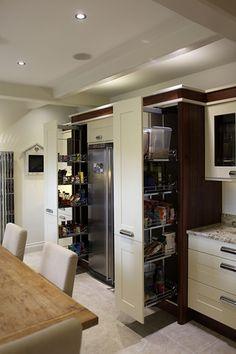 Bespoke kitchen design for Franca & John