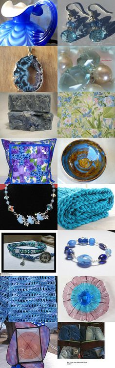 Awesome Azure by Jenny Louise on Etsy--Pinned with TreasuryPin.com