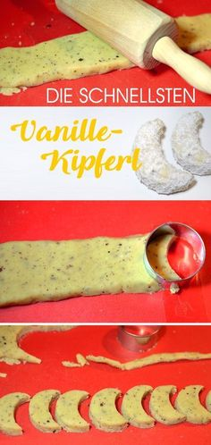 Our Best Cookie Recipes and the Vanilla Kipferl Trick- Unsere besten Plätzchen-Rezepte und der Vanillekipferl-Trick the Vanilla Kipferl Trick: My cookie hack for extra-fast cookies - Best Cookie Recipes, Cake Recipes, Snack Recipes, Dessert Recipes, Healthy Recipes, Brownie Recipes, Pasta Recipes, Vanilla Biscuits, Cookies Et Biscuits