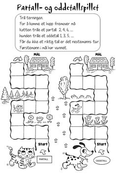 Naturfagserie for barn Preschool Learning, Teaching Math, Teaching Resources, Math Worksheets, Math Activities, Special Needs, Holidays And Events, Kids And Parenting, 1