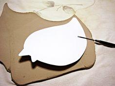 slab pottery templates - Google Search