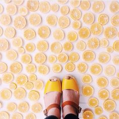 When life gives you lemons... You take a great Instagram photo with your clogs  by @kennaandlulu  #fromwhereistand