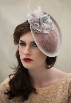 Hey, I found this really awesome Etsy listing at https://www.etsy.com/listing/175958024/rose-pink-saucer-hat-in-sinamay-straw