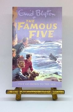 NEW Five Go Down to the Sea Famous Five by Enid Blyton illustrated paperback The Famous Five, Enid Blyton, Sea, Baseball Cards, Illustration, The Ocean, Illustrations, Ocean